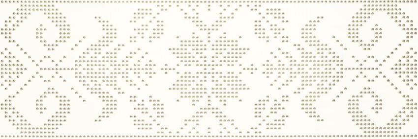 Płytka dekoracyjna 25x75 cm Paradyż Caya Bianco Inserto A