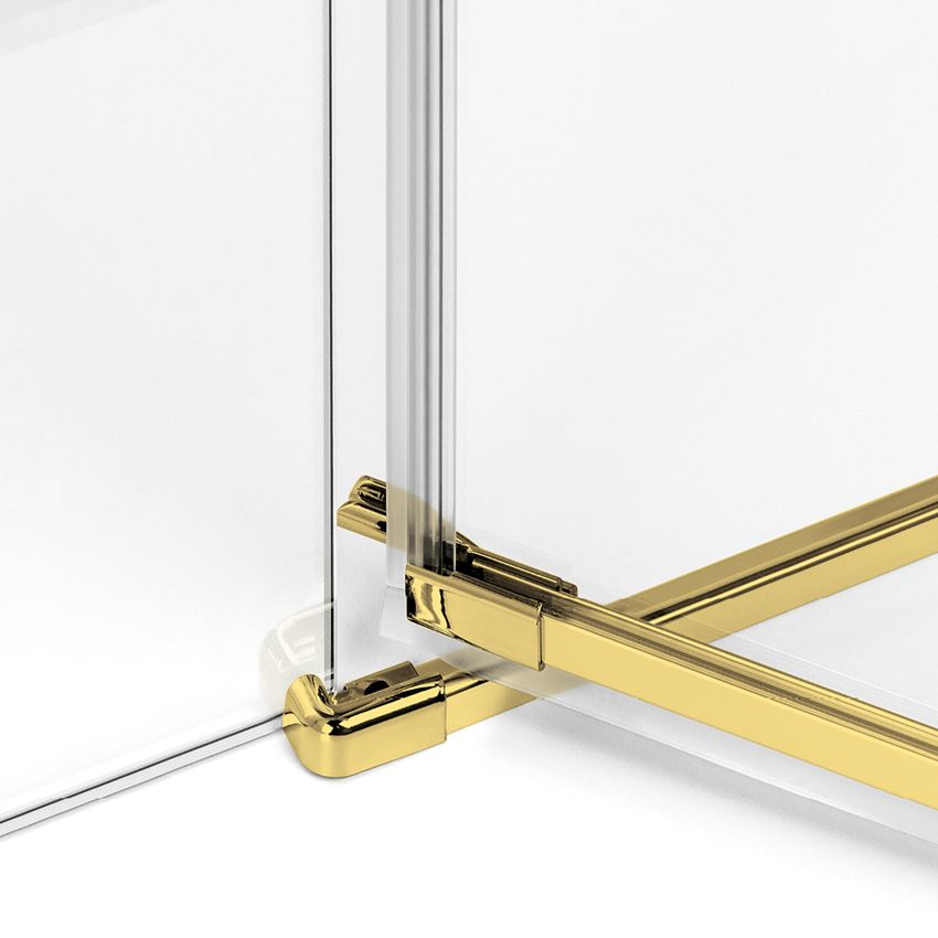 Próg z serii New Trendy Avexa Gold Shine