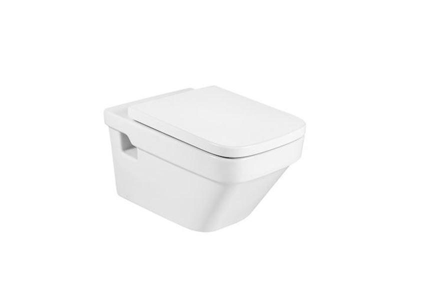 Miska WC podwieszana z powłoką MaxiClean 36x57x40 cm Roca Dama-N