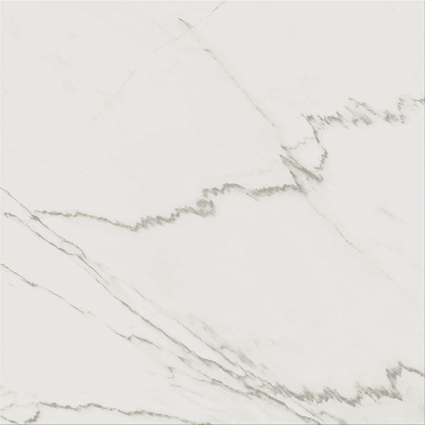 Płytka podłogowa 42x42 cm Cersanit G434 white satin