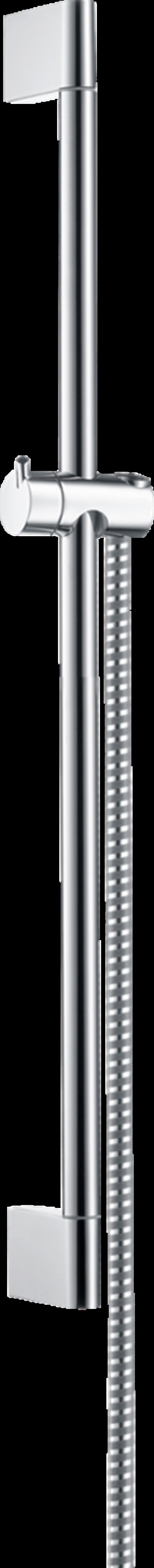 Drążek prysznicowy Crometta 65 cm z wężem Hansgrohe Unica