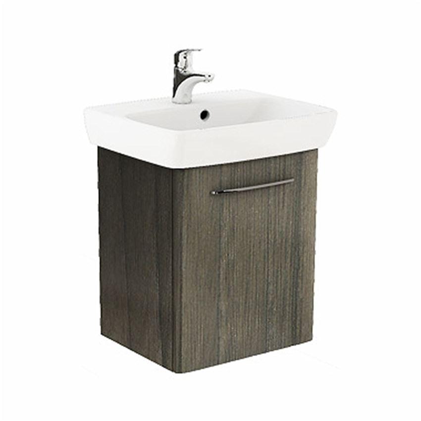 Szafka z umywalką 55 cm szary jesion Koło Nova Pro