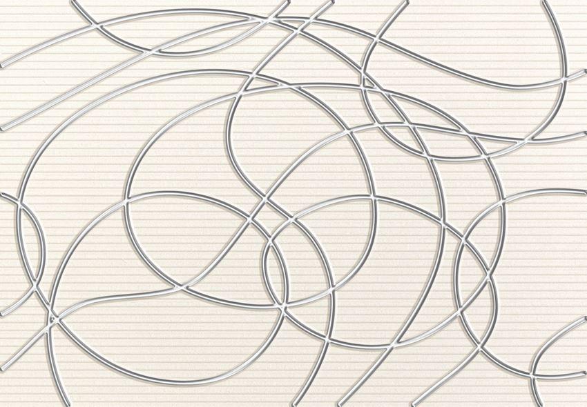 Dekor ścienny 36x25 cm Domino Indigo 1