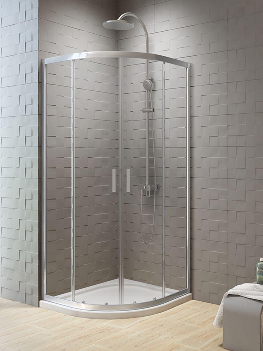 Kabina prysznicowa półokrągła New Trendy New Varia