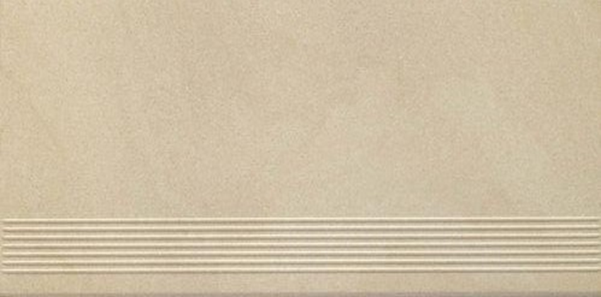 Płytka stopnicowa 29,8x59,8 cm Paradyż Rockstone Beige