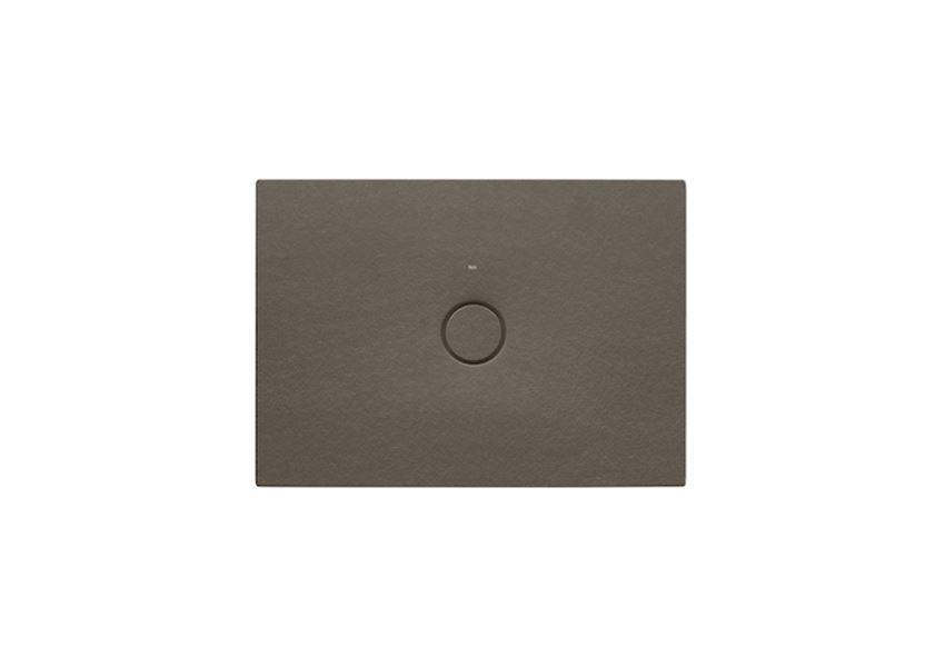 Brodzik ceramiczny SENCERAMIC® Cafe 100x70 cm Roca Cratos