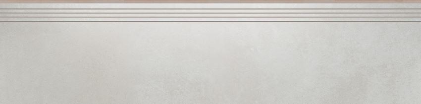Płytka stopnicowa 29,7x119,7 cm Cerrad Tassero bianco lappato