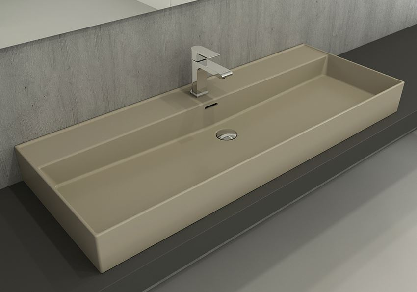Umywalka meblowa/nablatowa/wisząca 120 cm Matt Cashmere Bocchi Milano