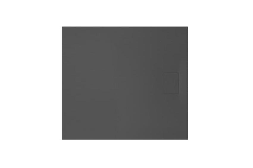 Brodzik prostokątny czarny 80x100 cm Excellent Lavano