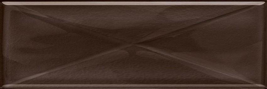 Dekoracja szklana Opoczno Glass Brown Inserto New OD660-103