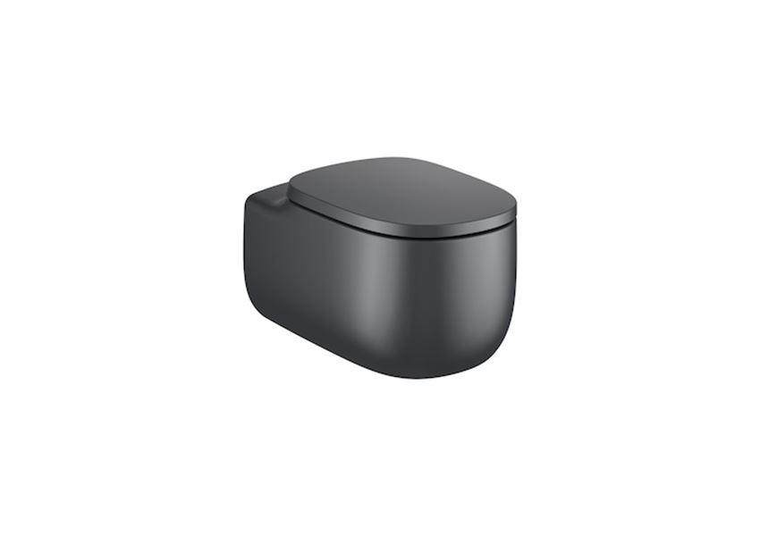 Miska WC podwieszana Rimless bez deski 39,5x58x44,5 cm Roca Beyond