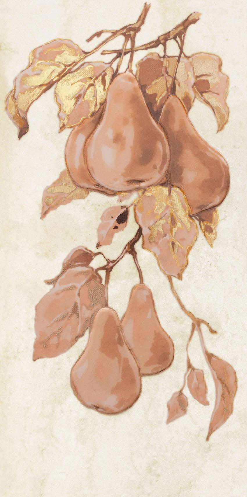 Dekor ścienny 44,8x22,3 cm Domino Enna Fruits pear