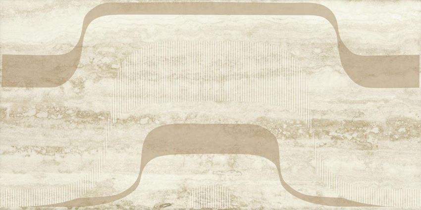 Dekoracja ścienna 30x60 cm Paradyż Amiche Beige inserto D
