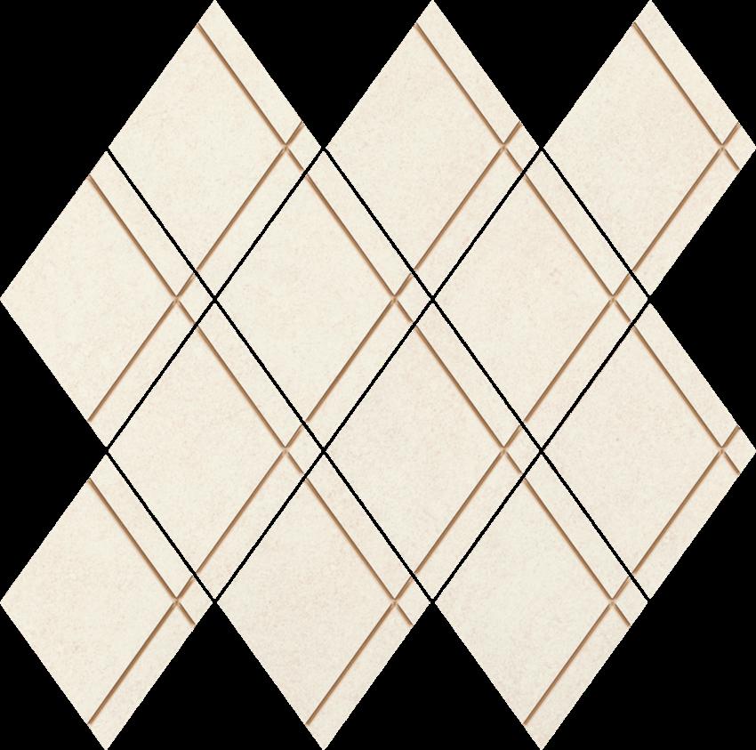 Mozaika 29,9x29,8 cm Paradyż Uniwersalna Mozaika Bianco Paradyż Arton