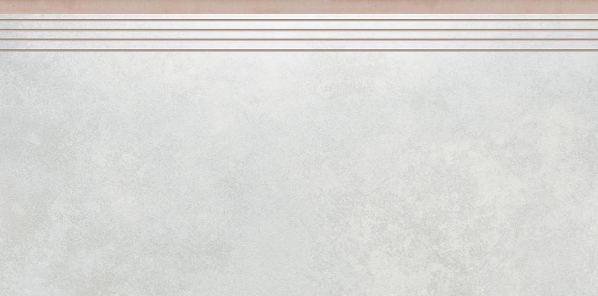 Płytka stopnicowa 29,7x59,7 cm Cerrad Apenino bianco lappato