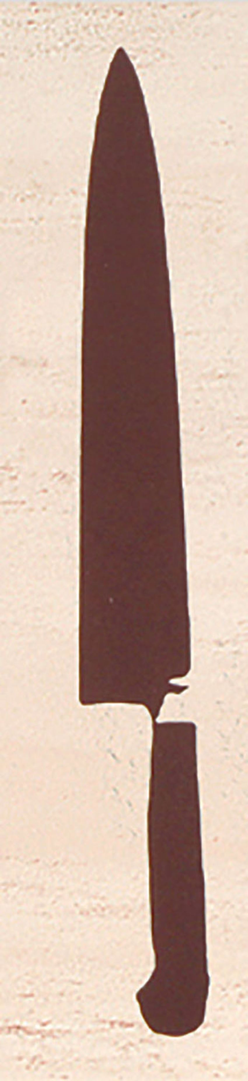 Listwa ścienna 25x5,7 cm Domino Sakura Cutlery 1
