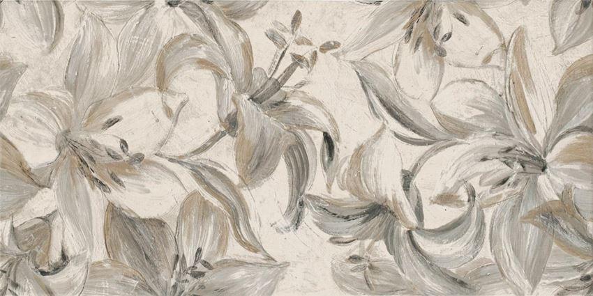 Dekoracja ścienna Paradyż Domus Beige Inserto Flower