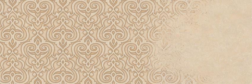 Dekor ścienny 29,5x89,5 cm Azario Atienet Delicate Beige A