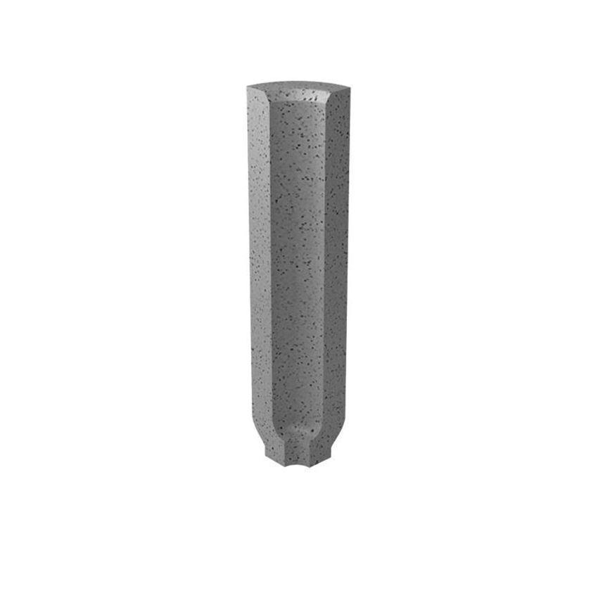 Dekoracja podłogowa 3x10 cm Paradyż Bazo Grys Profil Wewnętrzny Sól-Pieprz Mat