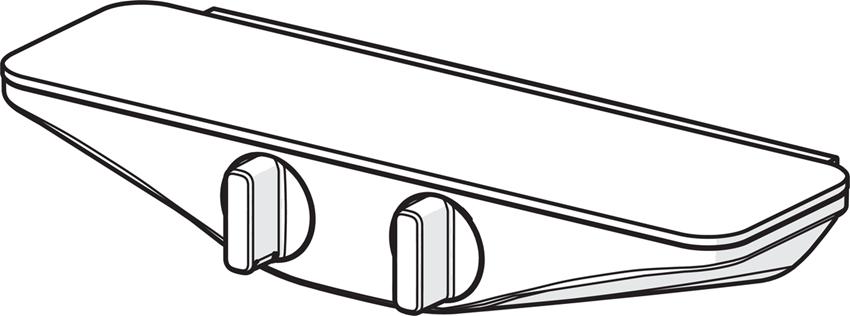 Bateria natryskowa termostatyczna Oras Esteta rysunek