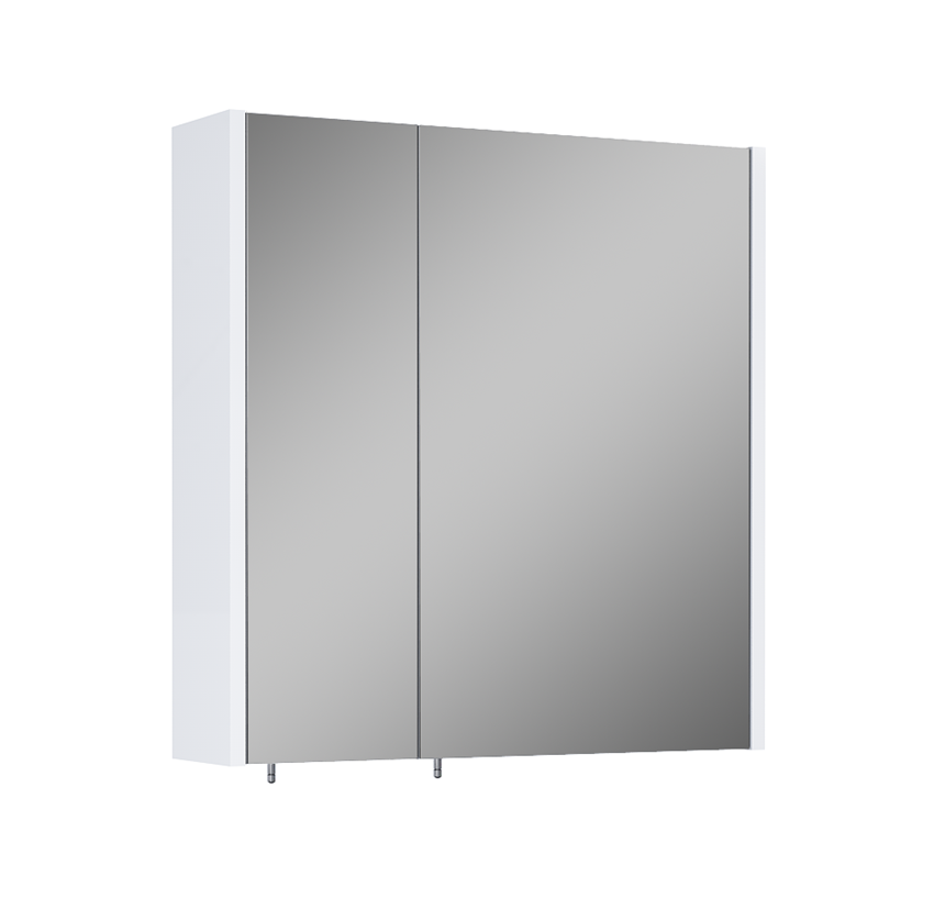 Szafka wisząca z lustrem 60 cm Elita 2D White (20/40) Technobox