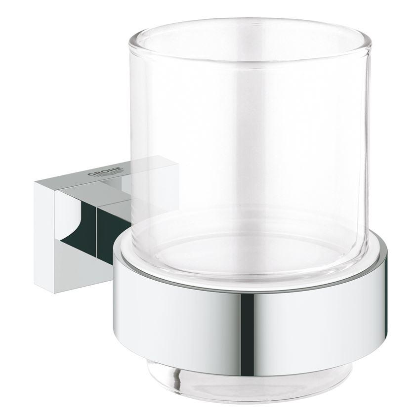 Szklanka z uchwytem Grohe Essentials Cube