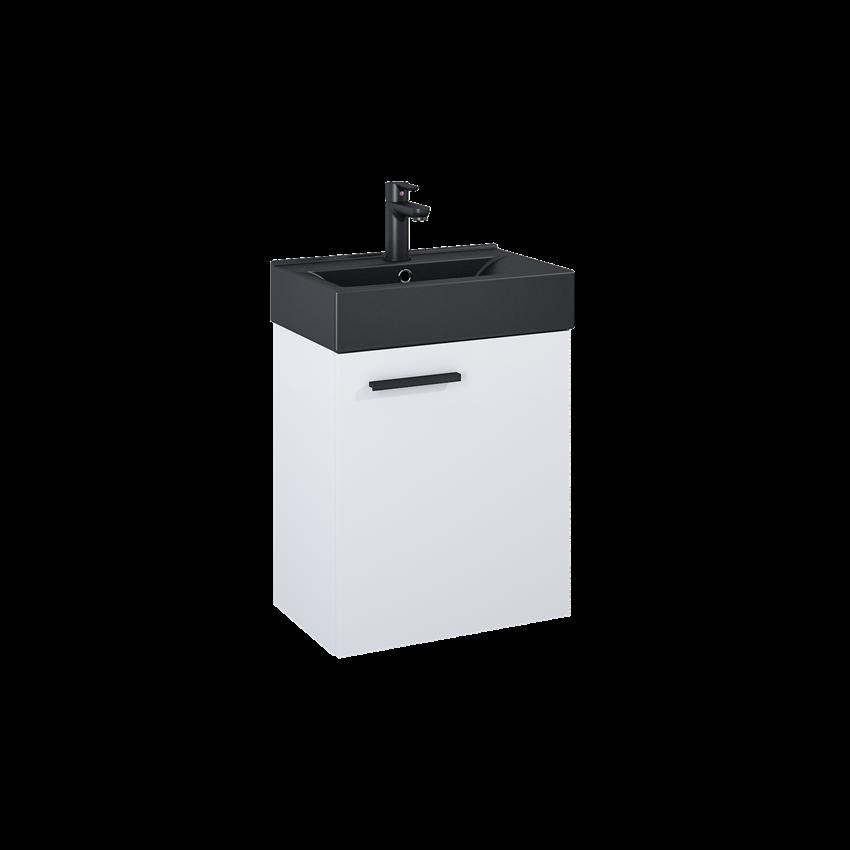 Szafka z umywalką 45 cm Elita Tiny 45 1D White Matt