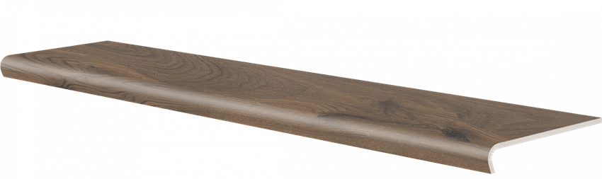 Płytka stopnicowa 30x120,2 cm Cerrad V-shape Acero marrone