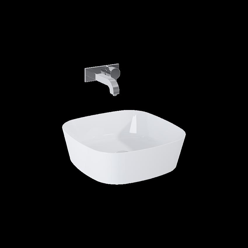 Umywalka stawiana na blacie 44x44 cm Elita Elista