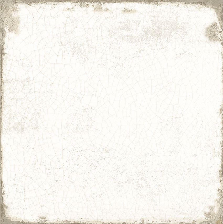 Płytka dekoracyjna 20x20 cm Azario Grafton Pearl White Gres Mat