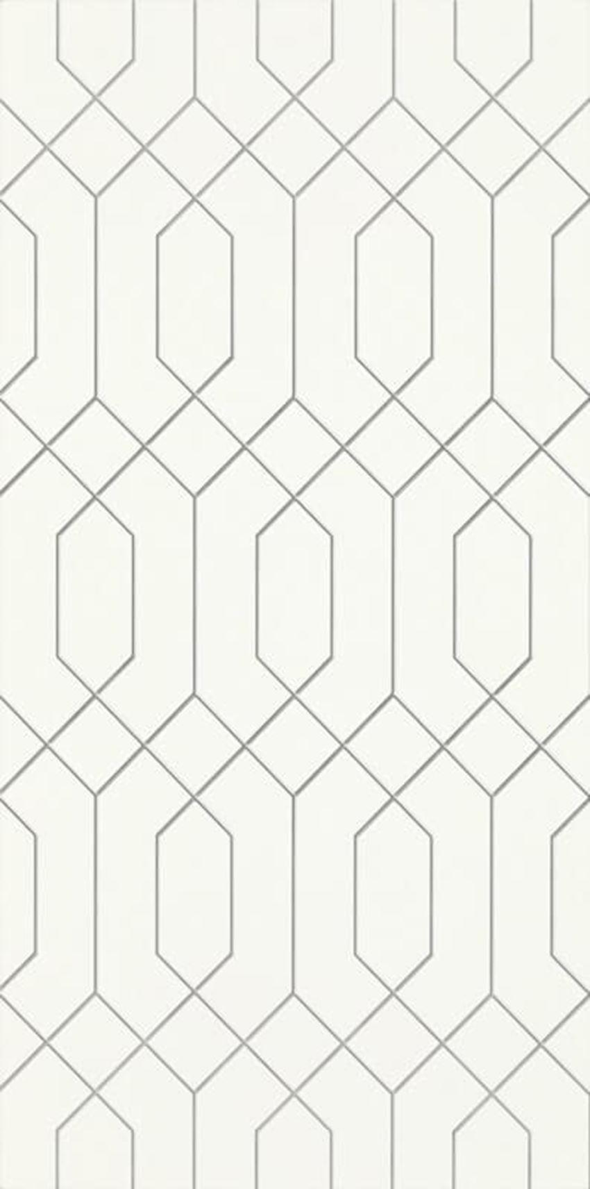 Płytka ścienna 29,5x59,5 cm Paradyż Taiga Ivory Inserto
