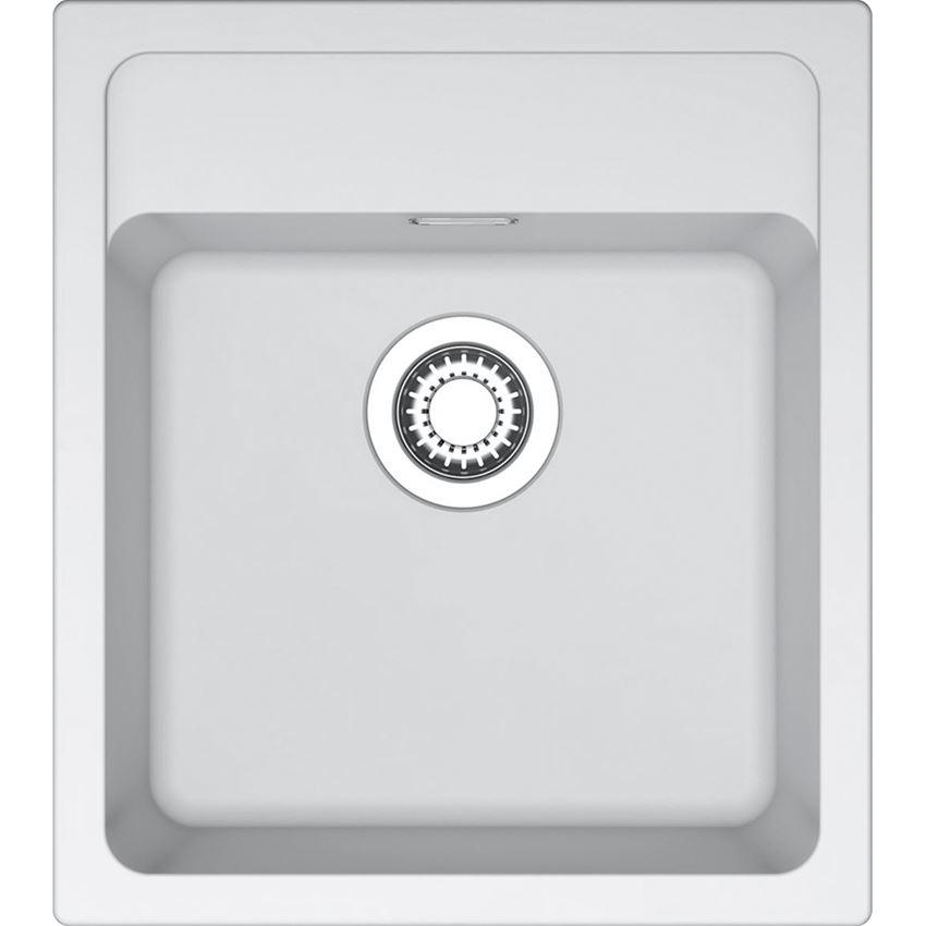 Zlewozmywak 1-komorowy Franke Mythos MTG 610-45 Biały polarny