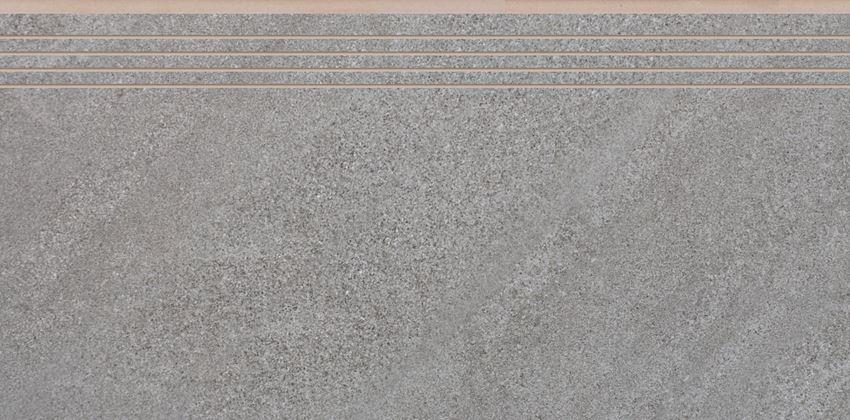 Płytka stopnicowa 29,7x59,7 cm  Cerrad Campina steel