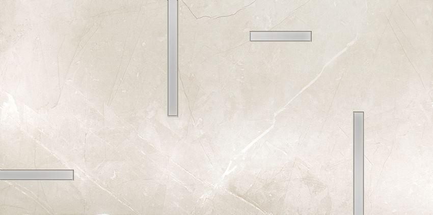 Dekor ścienny 29,8x59,8 cm Tubądzin Muse Geo 1