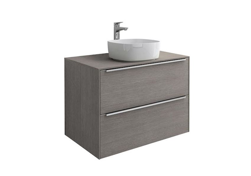 Szafka z blatem pod umywalkę nablatową 80x49,8x55,4 cm Roca Inspira A851080402
