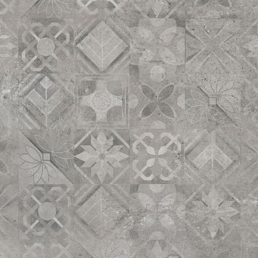 Płytka dekoracyjna Cerrad Softcement silver patchwork 2