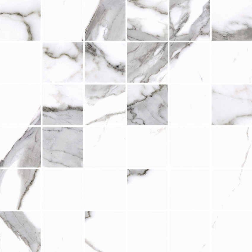 Mozaika 30x30 cm Cerrad Calacatta white Poler