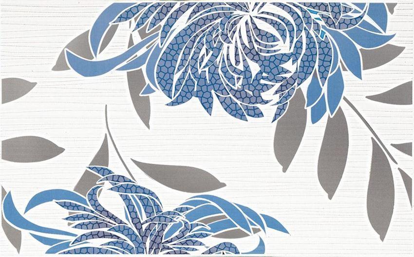 Dekoracja ścienna 40x25 cm Paradyż Acapulco Blue inserto A