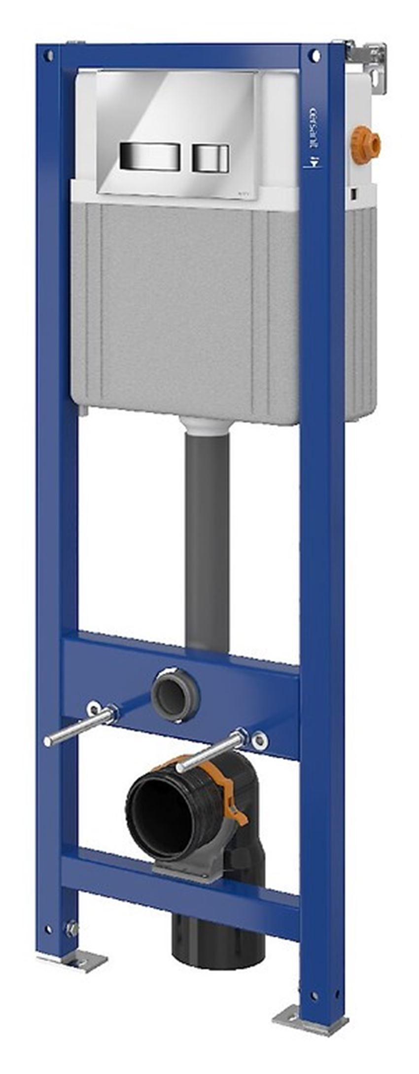 Stelaż podtynkowy do WC z przyciskiem Aqua Seria 2 Cersanit