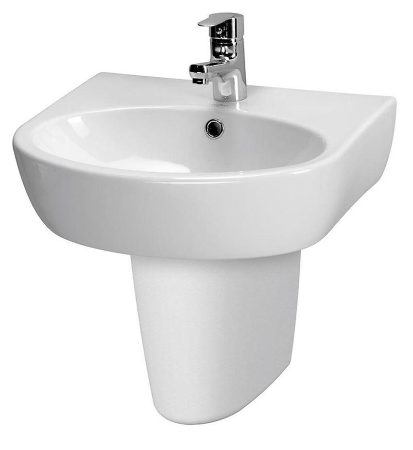 Umywalka wisząca 50 cm Cersanit Parva