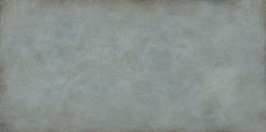 Płytka ścienno-podłogowa 119,8x239,8 cm Tubądzin Patina Plate blue MAT
