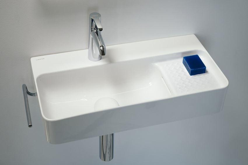 Bateria umywalkowa jednouchwytowa bez korka automatycznego Laufen Val