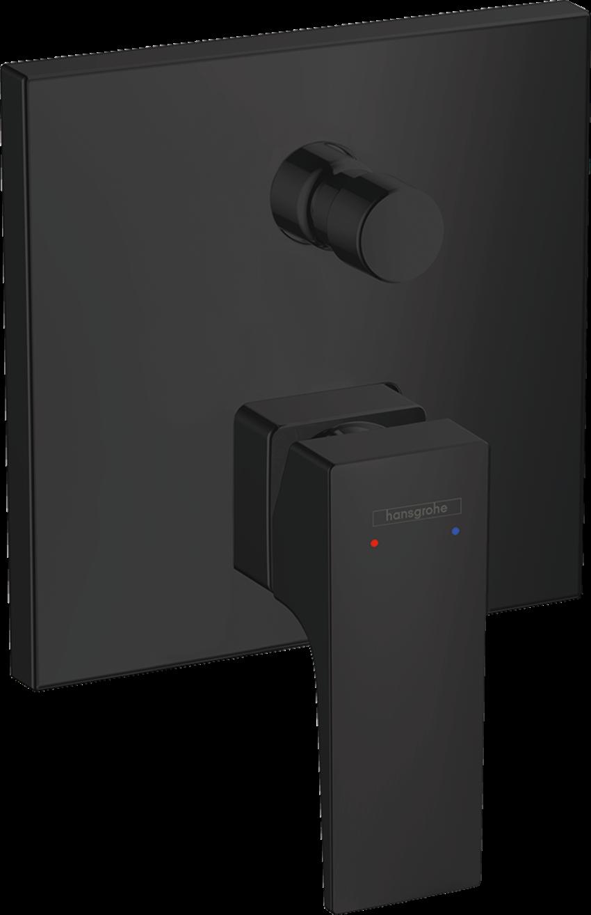 Jednouchwytowa bateria wannowa montaż podtynkowy element zewnętrzny Hansgrohe Metropol