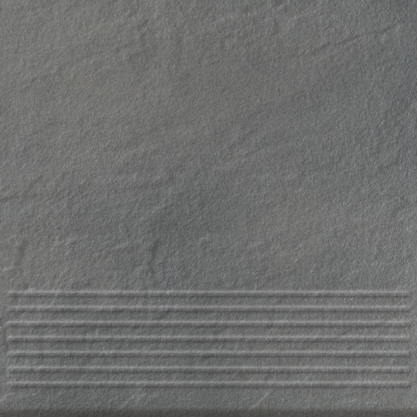 Płytka stopnicowa 30x30 cm Opoczno Solar Grey Stop 3-D