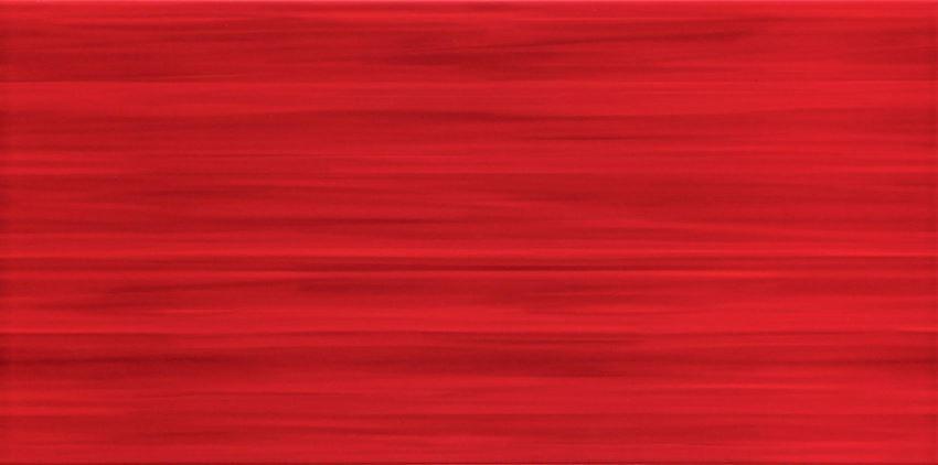 Płytka ścienna 44,8x22,3 cm Tubądzin Wave red