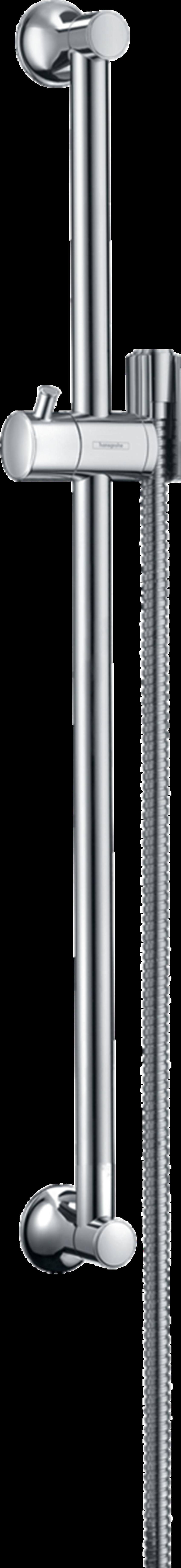 Drążek prysznicowy 65 cm z wężem chrom Hansgrohe Unica