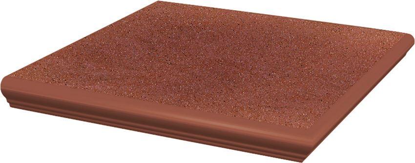 Płytka stopnicowa 33x33 cm Paradyż Taurus Rosa Kapinos Stopnica Narożna