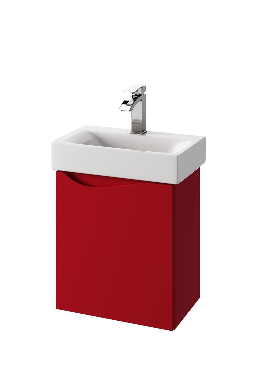 Szafka pod umywalkę podwieszana prawa 45x50,5x29,8 cm Defra Murcia