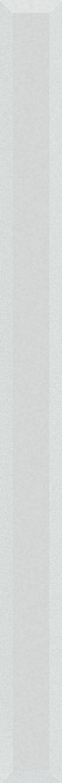 Listwa 6x75 cm Paradyż Uniwersalna Listwa Szklana Ivory Fazowana