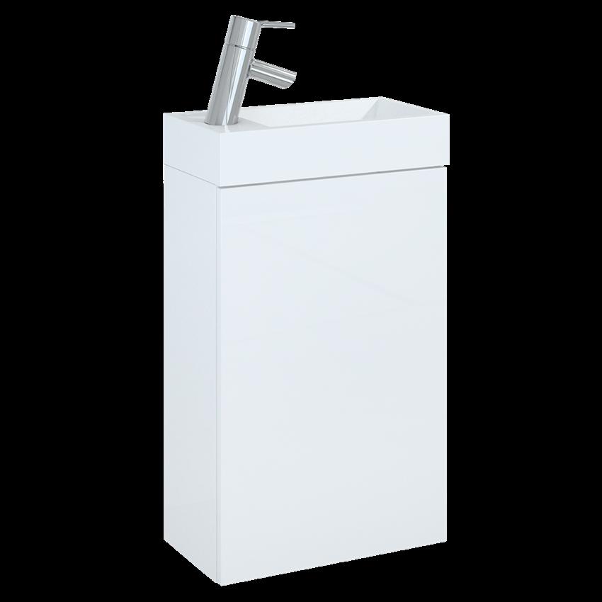Szafka z umywalką 40 cm Elita Young Basic White